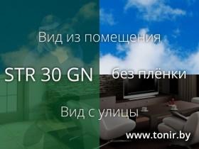 STR 30 GN SR PS — плёнка зелёная зеркальная средняя