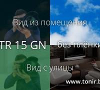 STR 15 GN SR PS — плёнка зелёная зеркальная тёмная